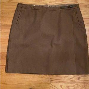 Llbean herringbone skirt